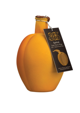 Aprikosenwein weiß in Souvenirflasche